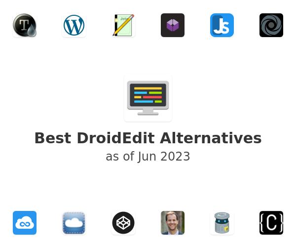 Best DroidEdit Alternatives
