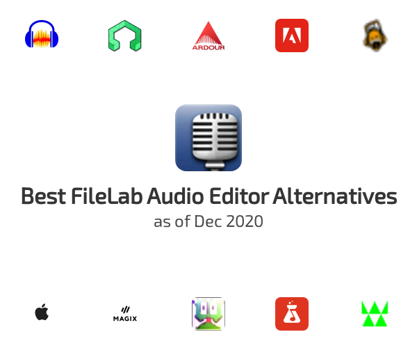 Best FileLab Audio Editor Alternatives