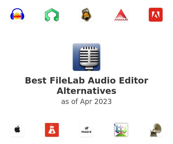 Best FileLab Audio Editor Alternatives