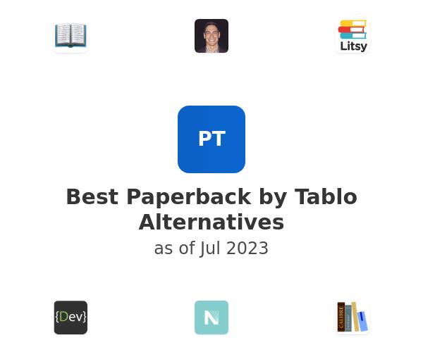 Best Paperback by Tablo Alternatives
