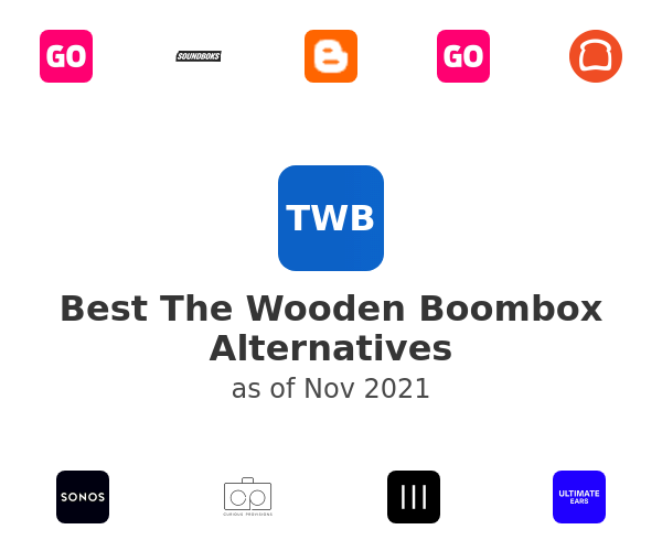 Best The Wooden Boombox Alternatives