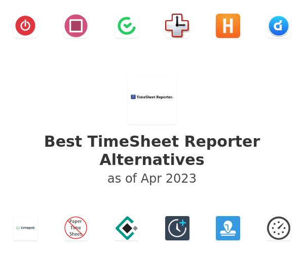 Best TimeSheet Reporter Alternatives