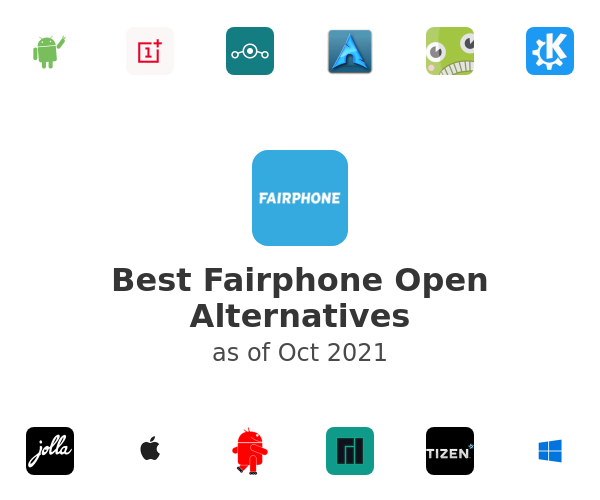 Best Fairphone Open Alternatives