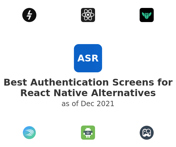 Best Authentication Screens for React Native Alternatives
