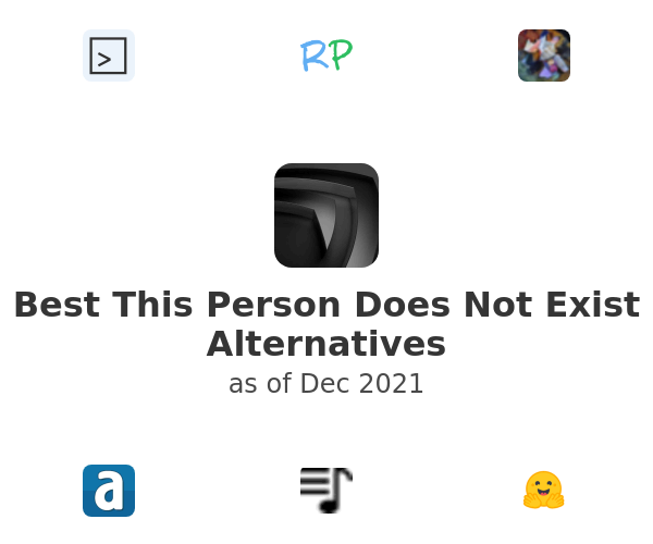 Best This Person Does Not Exist Alternatives
