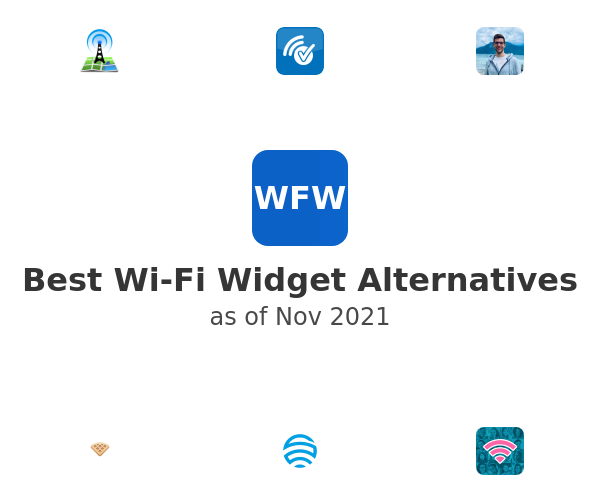 Best Wi-Fi Widget Alternatives