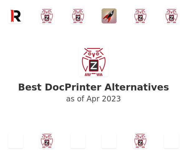 Best DocPrinter Alternatives