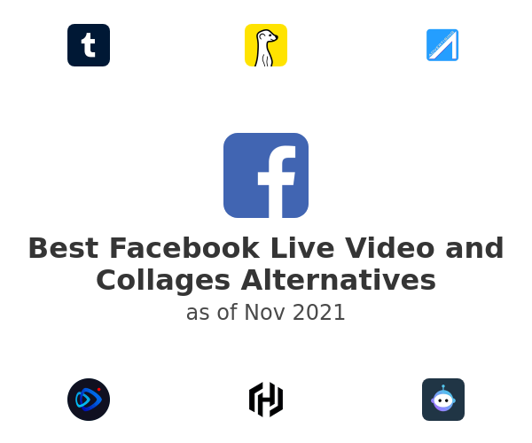 Best Facebook Live Video and Collages Alternatives
