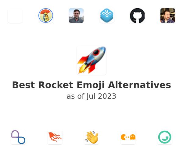 Best Rocket Emoji Alternatives