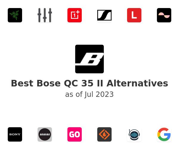 Best Bose QC 35 II Alternatives