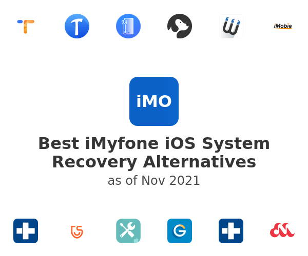Best iMyfone iOS System Recovery Alternatives