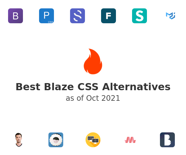 Best Blaze CSS Alternatives