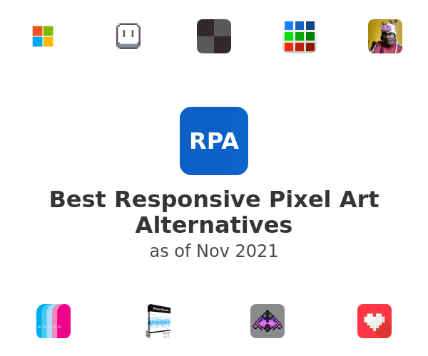 Best Responsive Pixel Art Alternatives