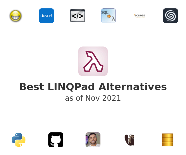 Best LINQPad Alternatives