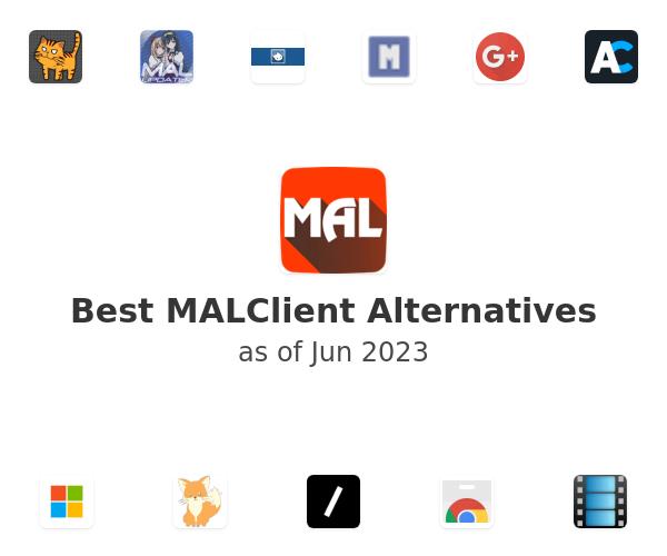 Best MALClient Alternatives