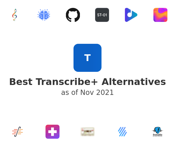 Best Transcribe+ Alternatives
