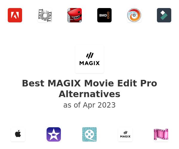 Best MAGIX Movie Edit Pro Alternatives