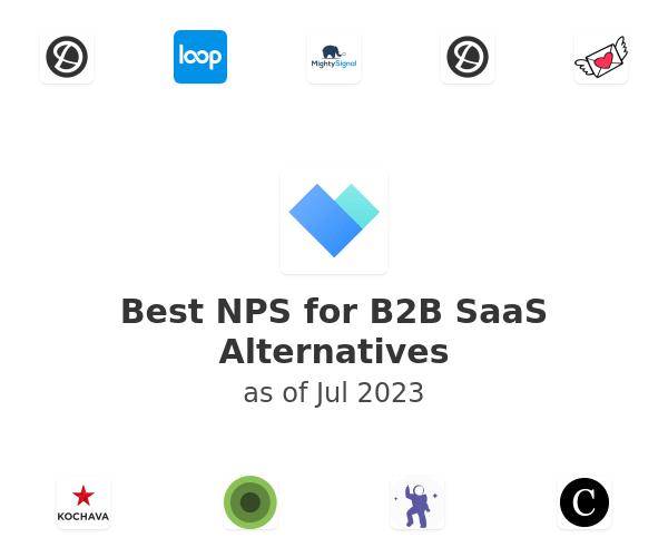 Best NPS for B2B SaaS Alternatives