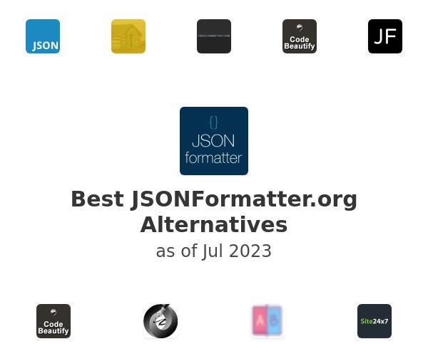 Best JSONFormatter.org Alternatives