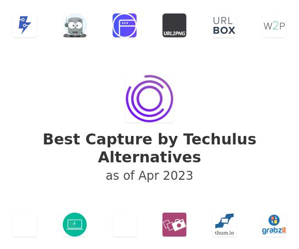 Best Capture by Techulus Alternatives