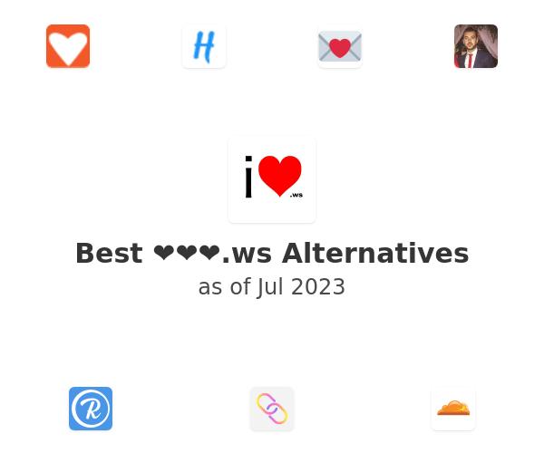 Best ❤❤❤.ws Alternatives