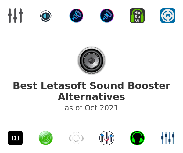 Best Letasoft Sound Booster Alternatives