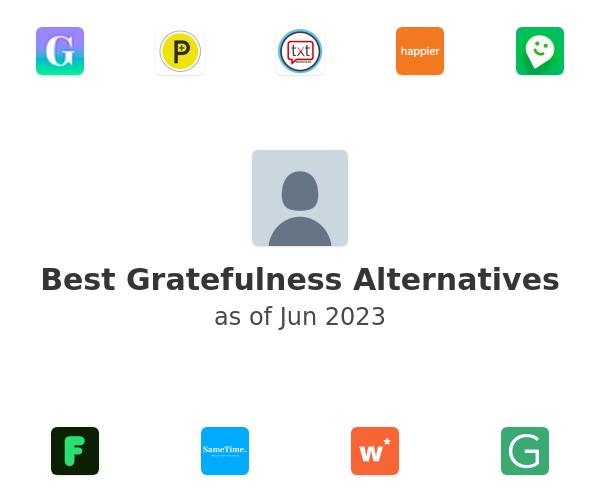 Best Gratefulness Alternatives