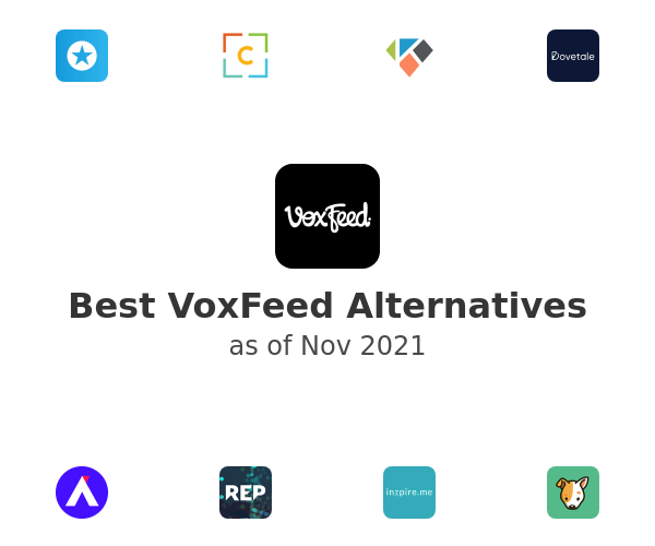Best VoxFeed Alternatives