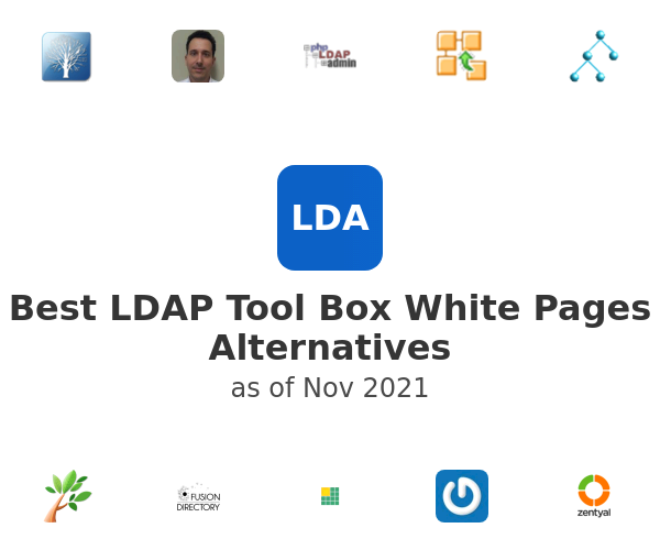 Best LDAP Tool Box White Pages Alternatives