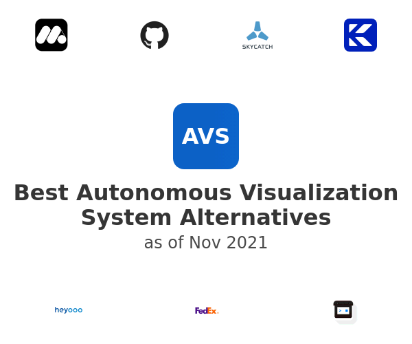 Best Autonomous Visualization System Alternatives