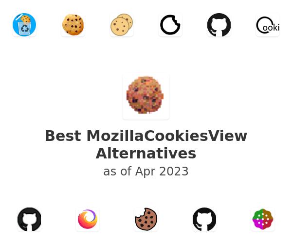 Best MozillaCookiesView Alternatives