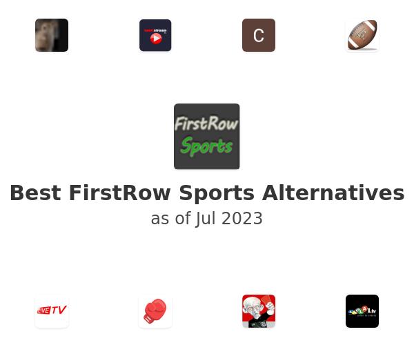 Best FirstRow Sports Alternatives