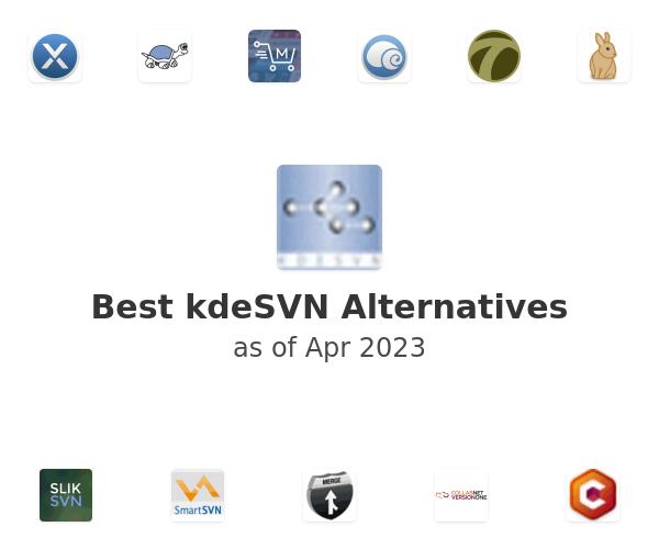 Best kdeSVN Alternatives