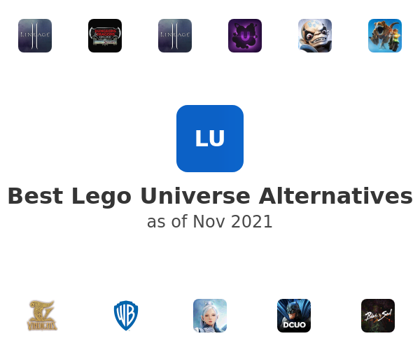 Best Lego Universe Alternatives