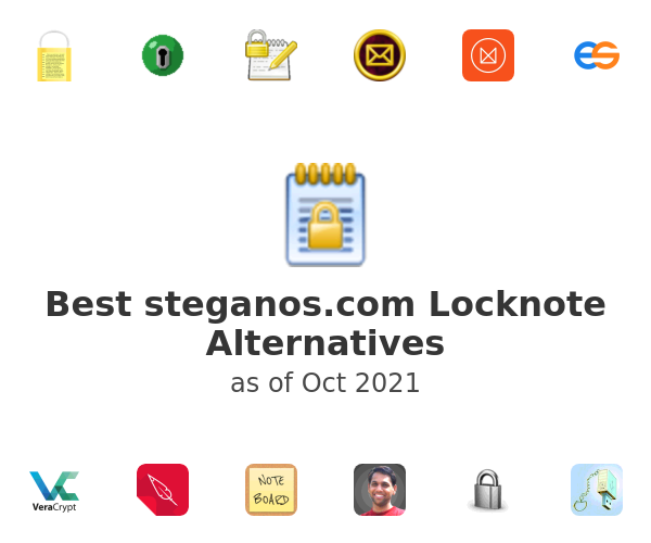 Best steganos.com Locknote Alternatives