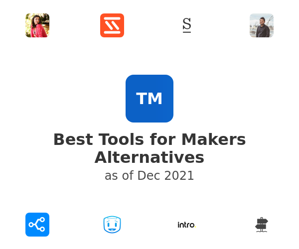 Best Tools for Makers Alternatives