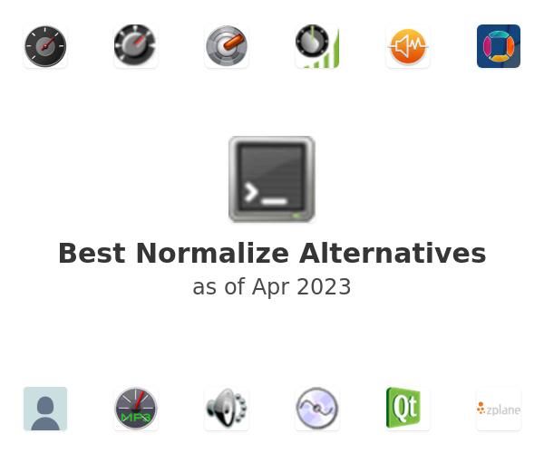 Best Normalize Alternatives