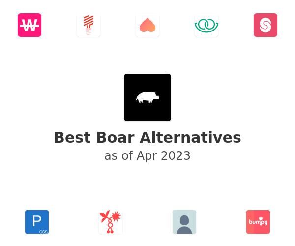 Best Boar Alternatives