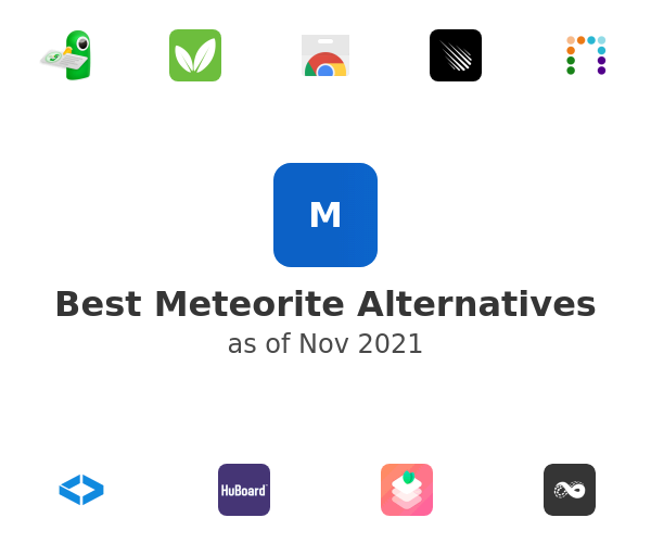 Best Meteorite Alternatives