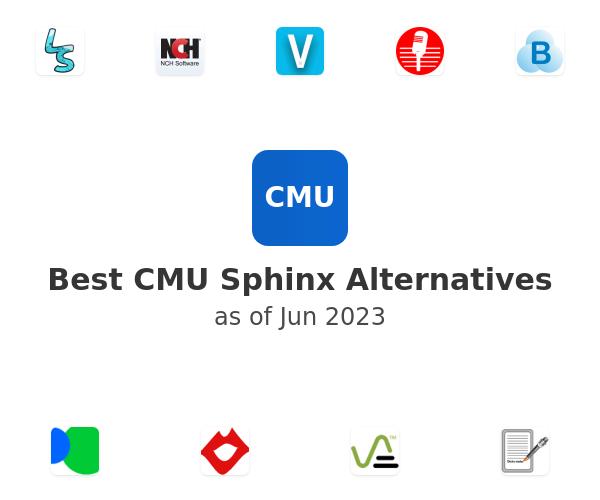 Best CMU Sphinx Alternatives