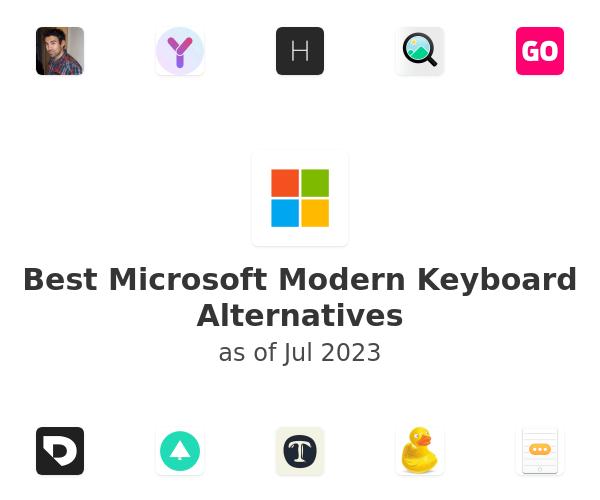 Best Microsoft Modern Keyboard Alternatives