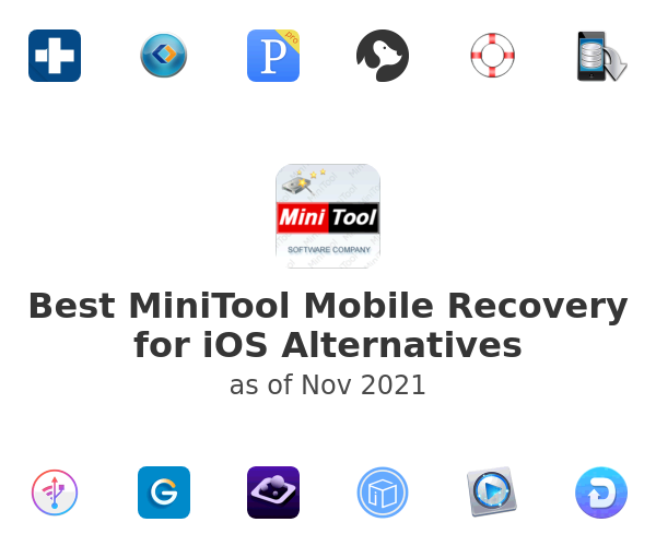 Best MiniTool Mobile Recovery for iOS Alternatives