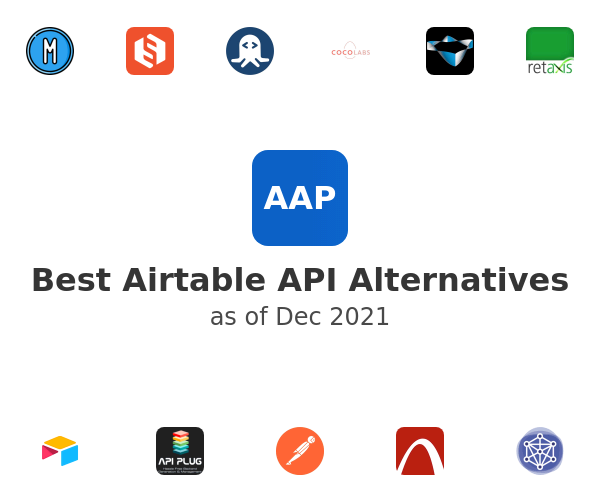 Best Airtable API Alternatives