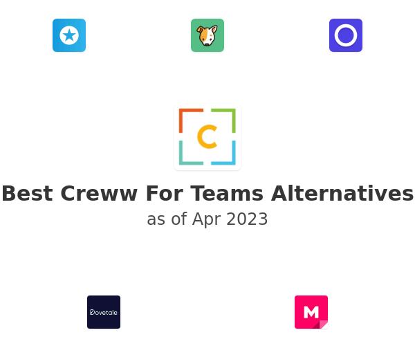 Best Creww For Teams Alternatives