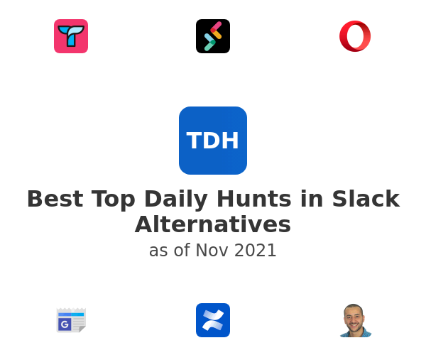Best Top Daily Hunts in Slack Alternatives