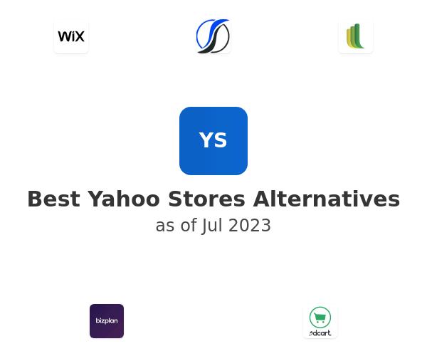 Best Yahoo Stores Alternatives