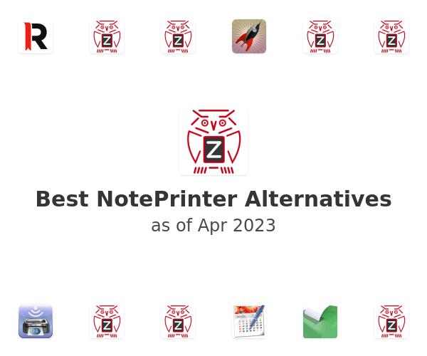 Best NotePrinter Alternatives