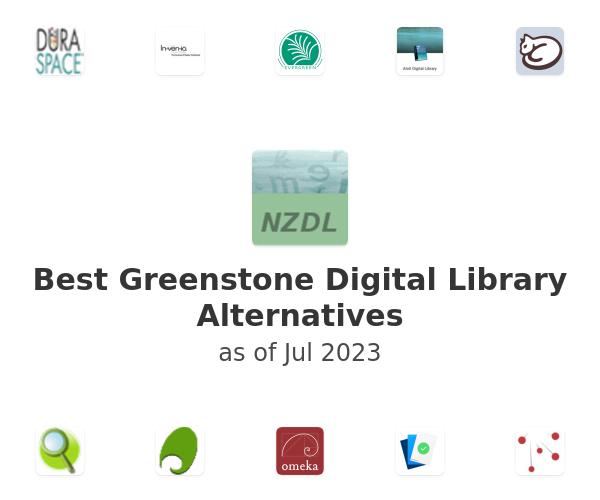 Best Greenstone Digital Library Alternatives
