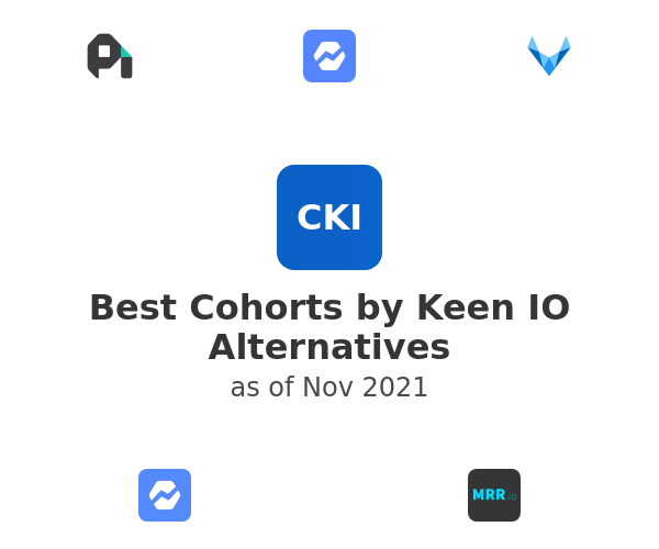 Best Cohorts by Keen IO Alternatives