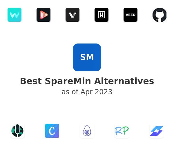 Best SpareMin Alternatives